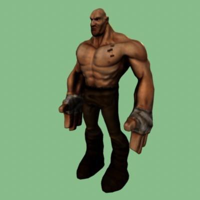 3d brawler model