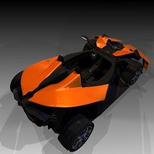 free blend model sports vehicle blender