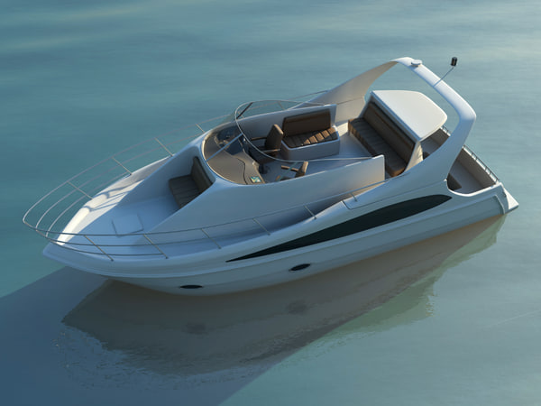 carver 360 sport motor yacht 3d max