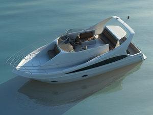 carver 360 sport motor yacht 3d max