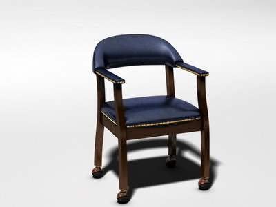 casino chair 3d c4d