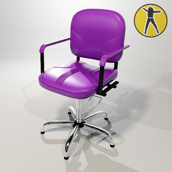 chair hair 3d max