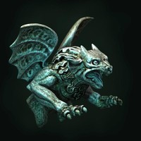 3d model gargoyle monster
