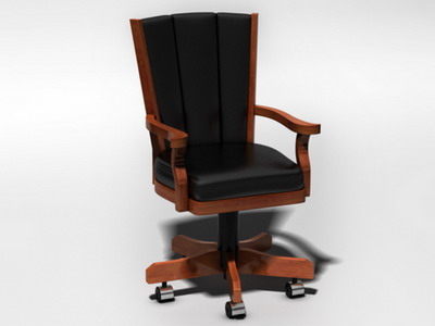 3d model of executive chair