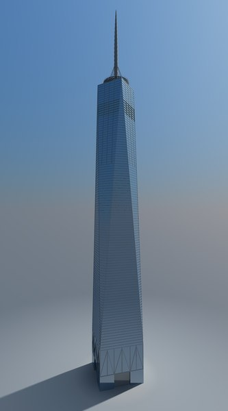 3ds max freedom tower
