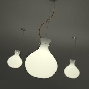 pendant lamp 3d max