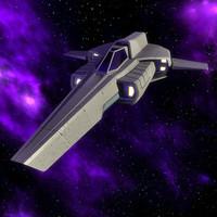 space interceptor c4d