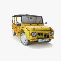 3d model car vehicle