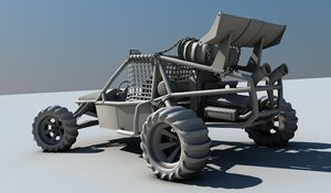 3d motor storm buggy model