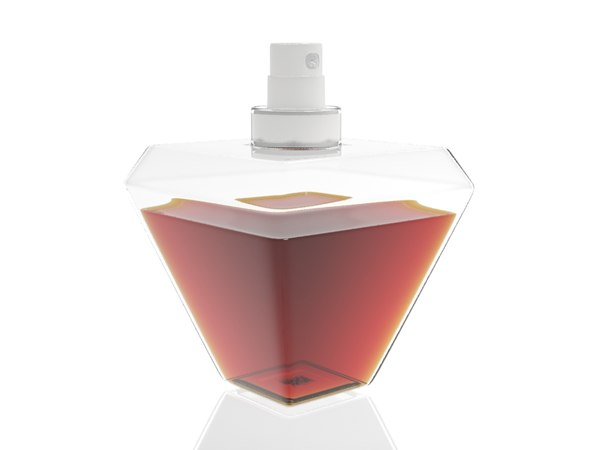 3d max photorealistic perfume bottle