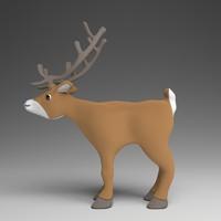 3ds max reindeer
