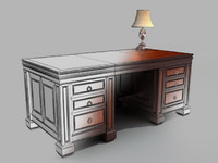 3ds max classic office table