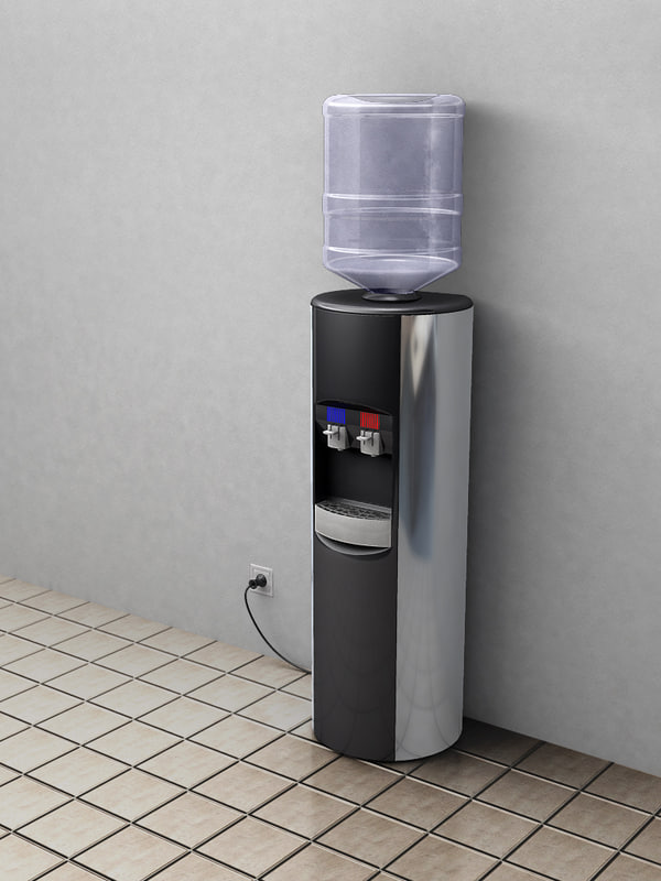 3d model water dispenser