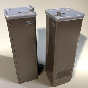3dsmax water fountain retro 01
