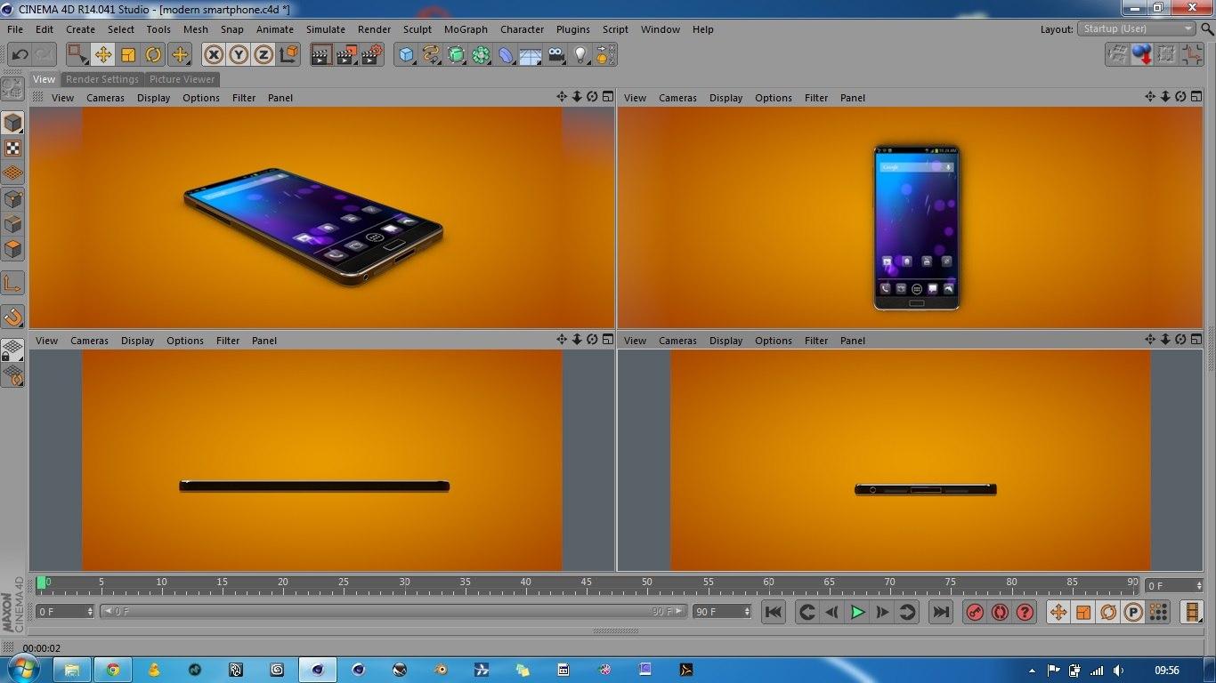 smart phone smartphone c4d