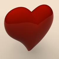 3d max heart