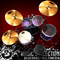 drum kit obj