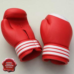3d boxing gloves v2
