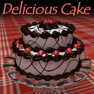 cake chocolate cherries max