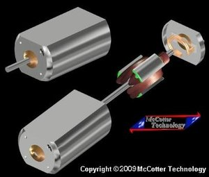 3ds dc electric motor type