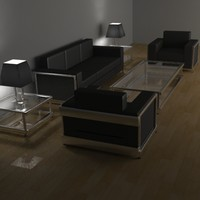 Modern Living Room Furniture Set 1