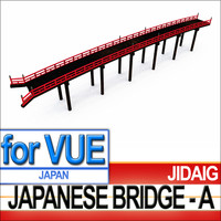 3d matsumoto bridge japanese