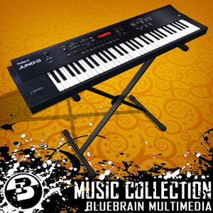 3d music keyboard