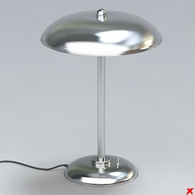 free 3ds model lamp office