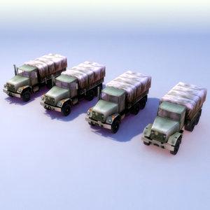 max supply truck lods m35