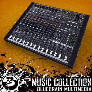 mixer board 3d model