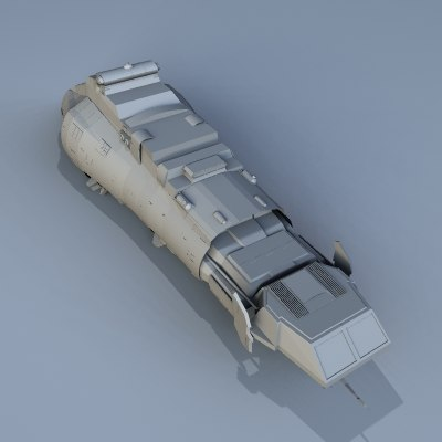 3d model exploration spacecraft