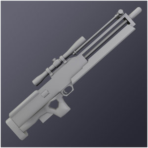 sniper wa 2000 3d model