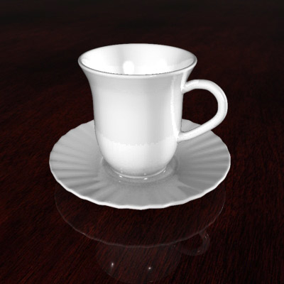 free max mode porcelain teacup