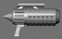 free blend mode sci-fi gun