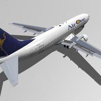 b 737-400 air 3d 3ds