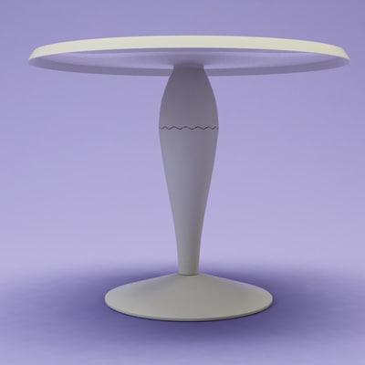 3d model kartell miss balu tables