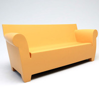 bubble club sofa 3d 3ds