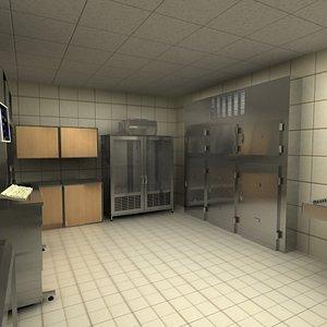 medical lab 3d model