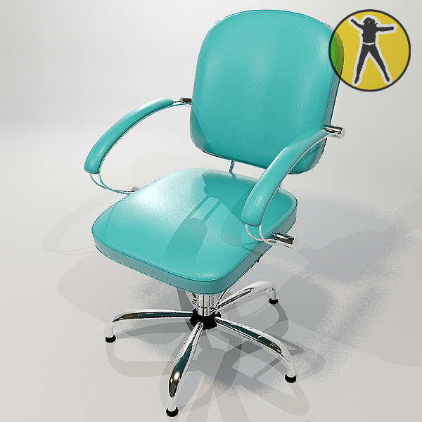 3ds max chair hair