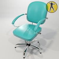 3ds max chair hair