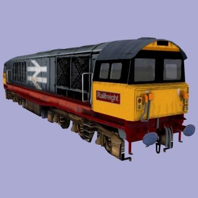 british rail class 58 3d max