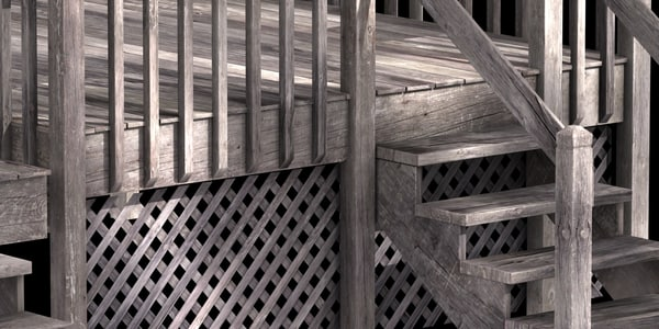 maya weathered deck home