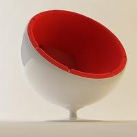 3d model egg chair