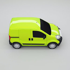 3d model van year 2009