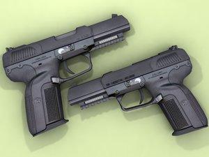 fn fiveseven seven 3d model