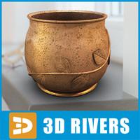Flowerpot 28 by 3DRivers