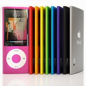 3d apple ipod nano 5g