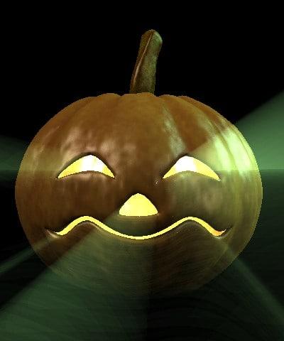 jacklantern pumpkin 3d model