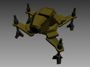 3d model half life mini spy