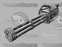 minigun 3d 3ds